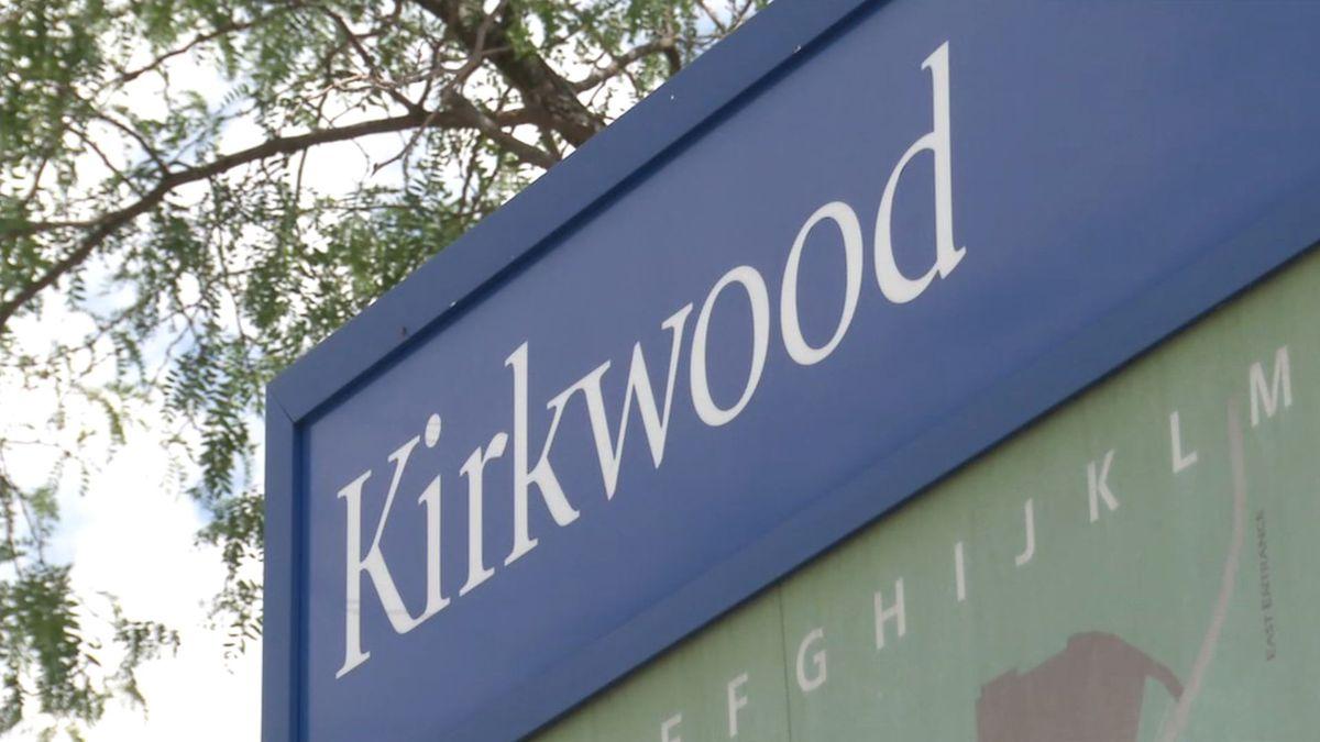Entrance of Kirkwood Community College, August 2019 (Josh Scheinblum/KCRG)