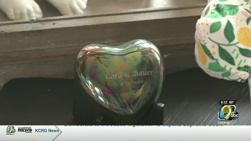 A family in Cedar Rapids is coping with the loss of their infant with the help of the...