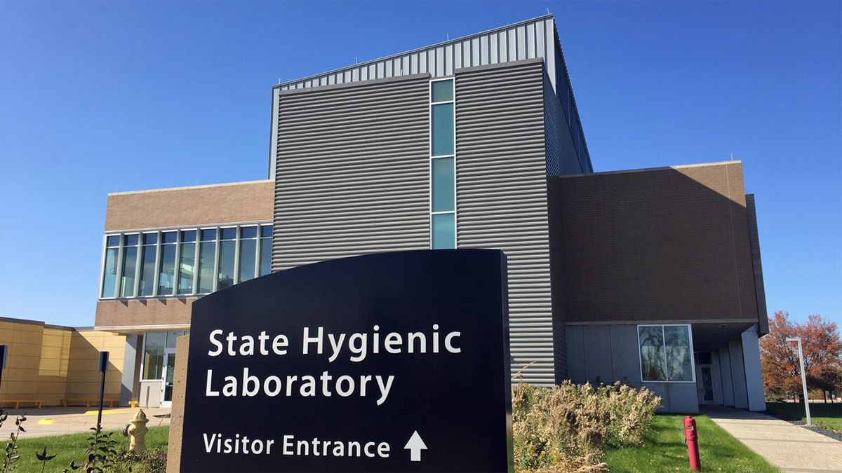 The Iowa State Hygenic Laboratory on the University of Iowa's Oakdale Campus in Coralville on Friday, October 25, 2019 (Jackie Kennon/KCRG).