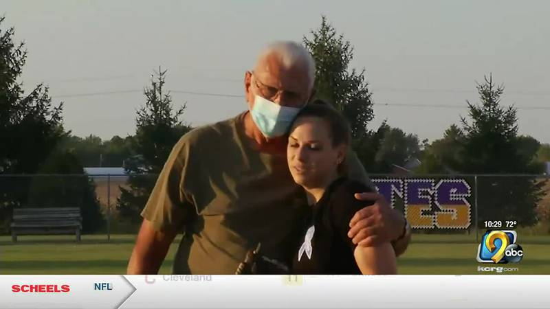 The Alburnett softball team held an alumni game and fundraiser for Don Williams who was...