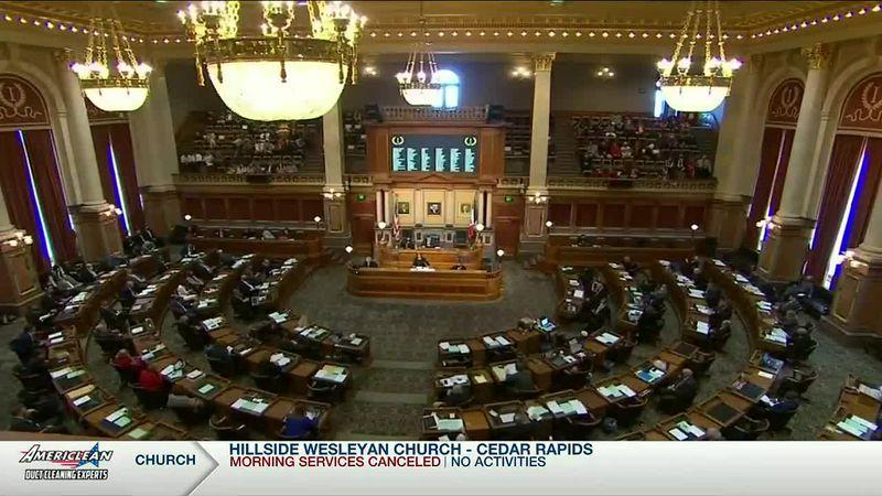 Iowa legislature.
