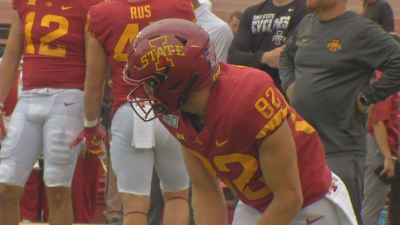 Cedar Rapids native Landen Akers will play in his final game in an Iowa State uniform after...