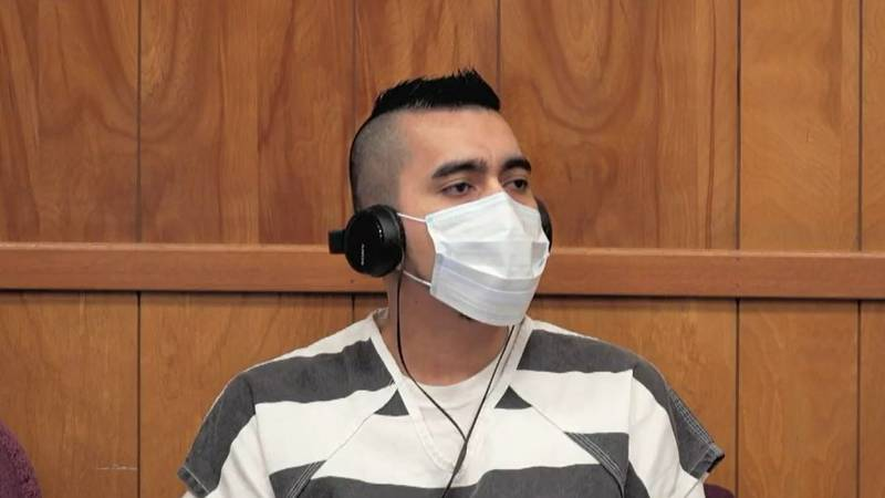 Cristhian Bahena Rivera during his sentencing hearing.