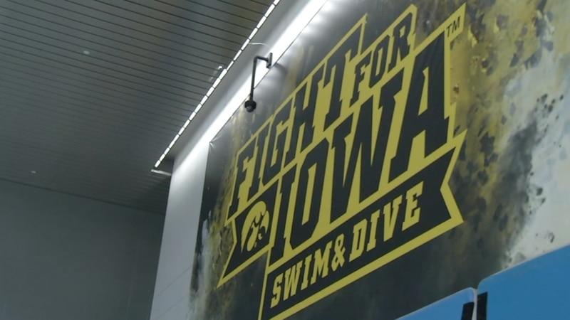 Former and current members of Iowa swim team call reinstatement 'bittersweet'