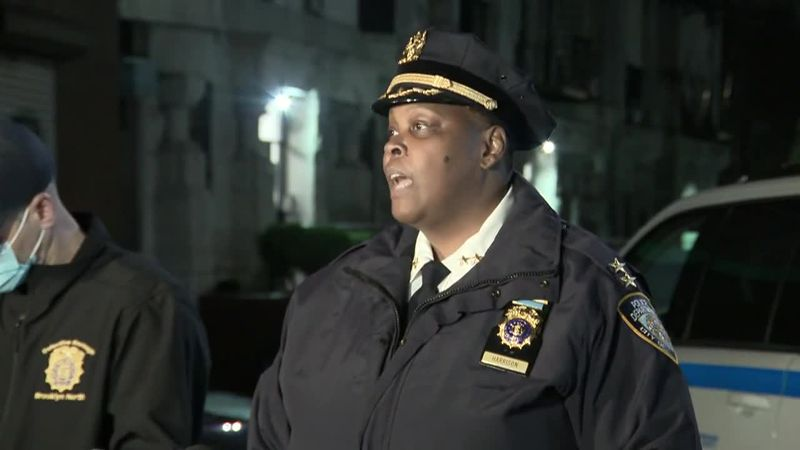 Assistant Chief Judith Harrison said a 20-year-old woman is dead after a Brooklyn shooting...