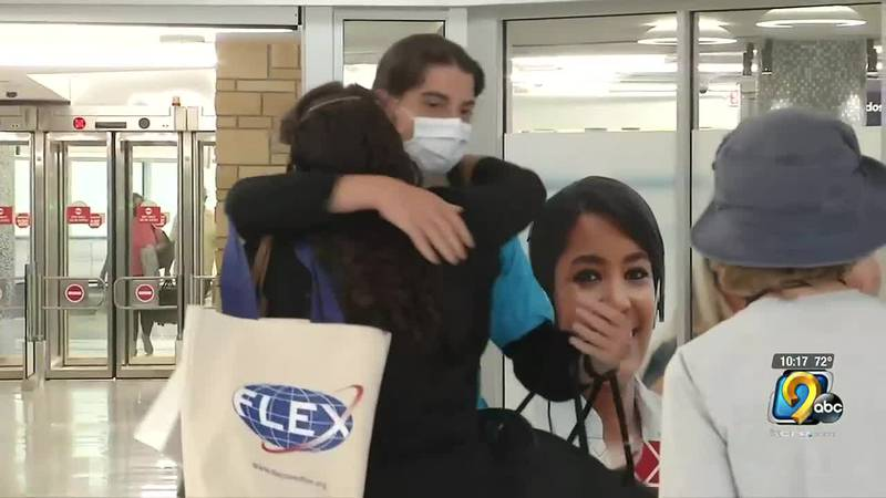 One local family welcomes foreign exchange student for the year, urges other families to host...