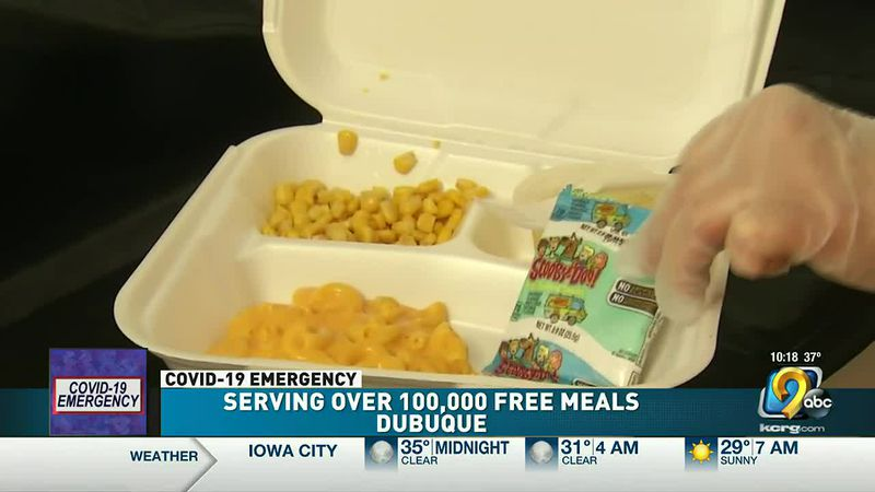 Dubuque Boys and Girls Club serving over 100,000 free meals