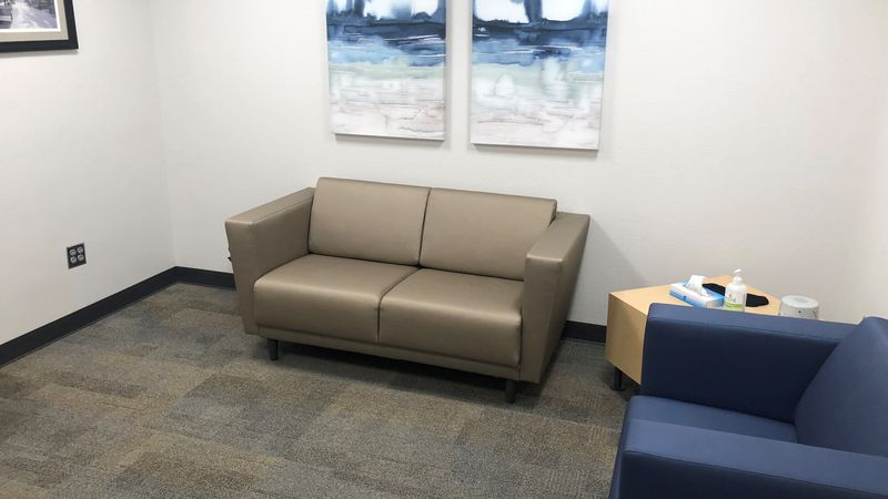 Soft Interview Room at Iowa City Police Department