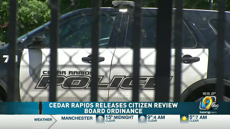 Cedar Rapids getting closer to establishing independent Citizen Review Board