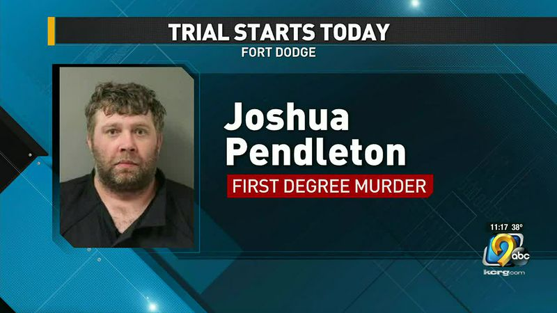 Today the trial is set to begin for the man accused of killing a pastor in Fort Dodge.