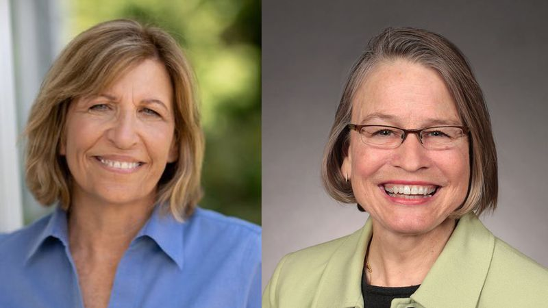 Rita Hart (D) and Mariannette Miller-Meeks (R) are candidates for Iowa's 2nd Congressional...