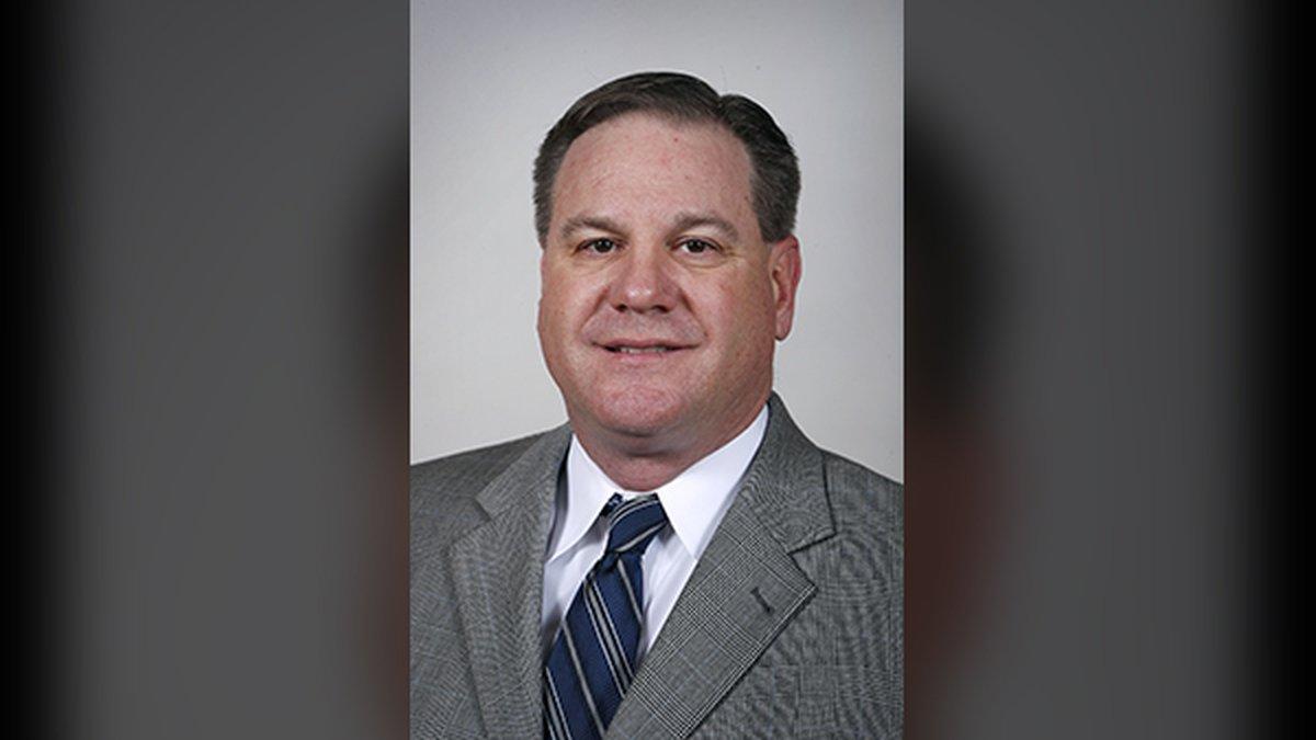 FILE - Shown in this Feb. 8, 2017, file photo, is Iowa Senate Secretary Charlie Smithson at the...