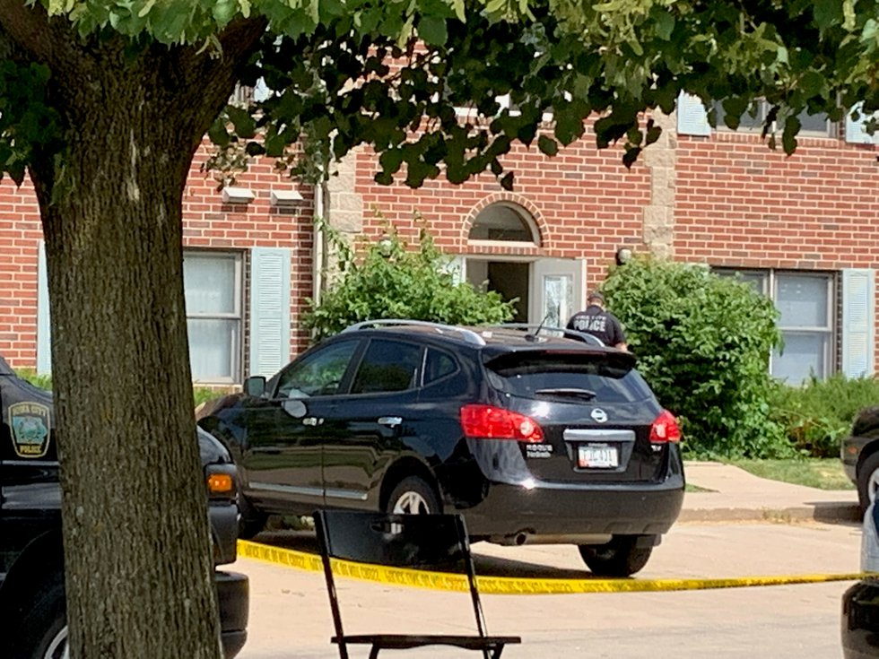 Iowa City Police are investigating a shooting that happened on Wednesday, June 23, 2021.