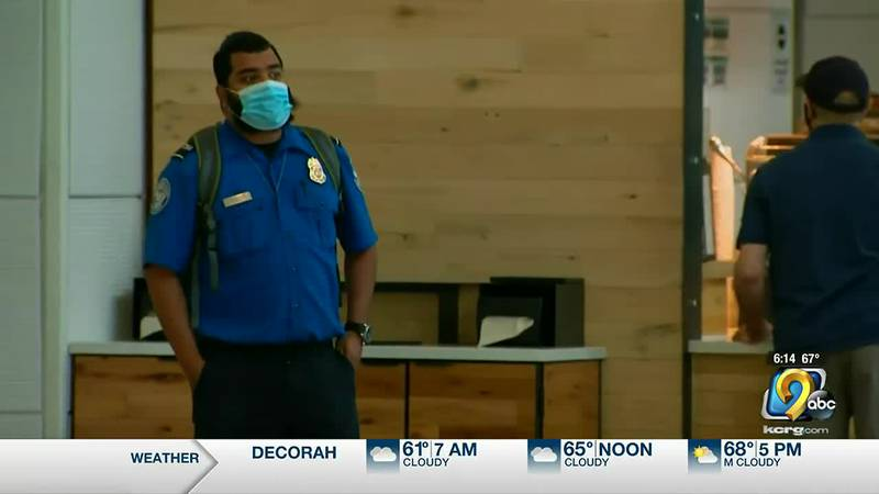 The TSA says more than ten thousand workers have now tested positive for COVID-19 since the...