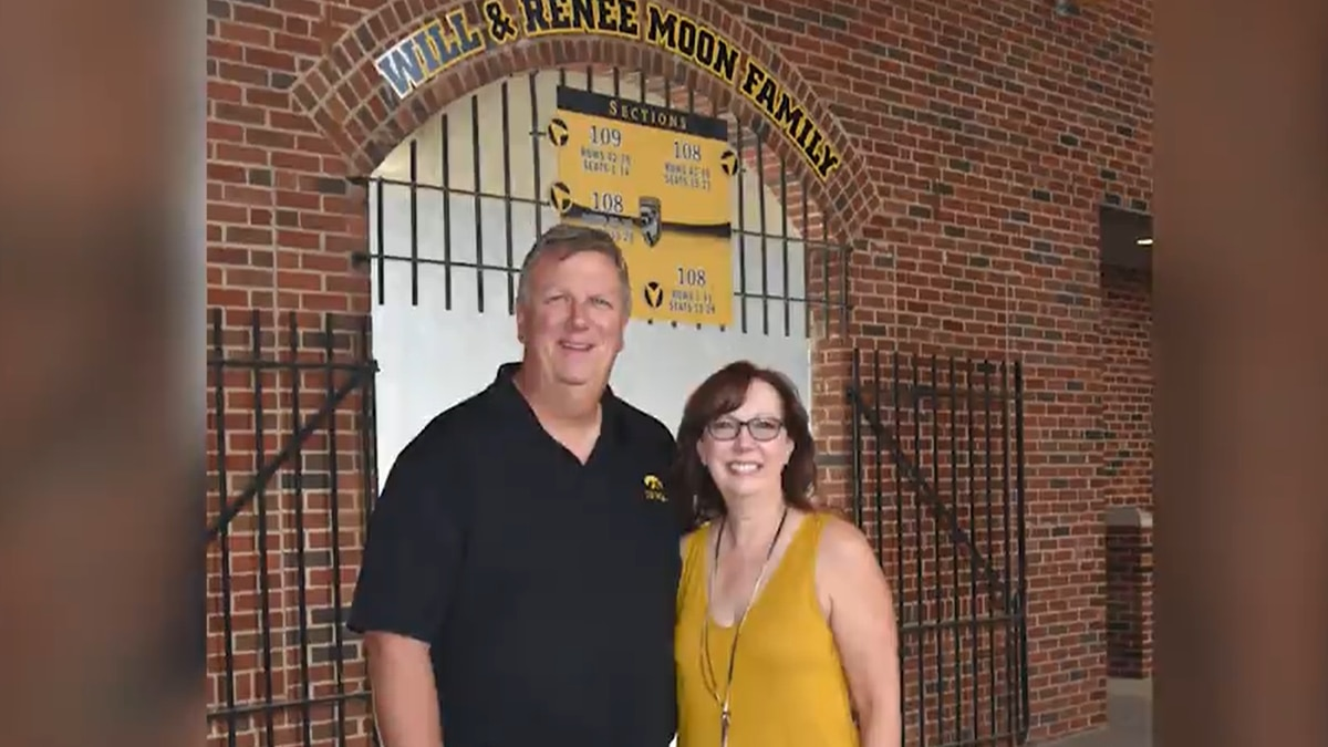 Will and Renee Moon have made a donation to the University of Iowa to endow the head football...