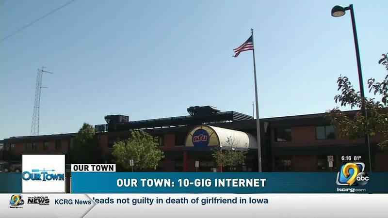 """Our Town"" Cedar Falls: 10-Gig Internet"