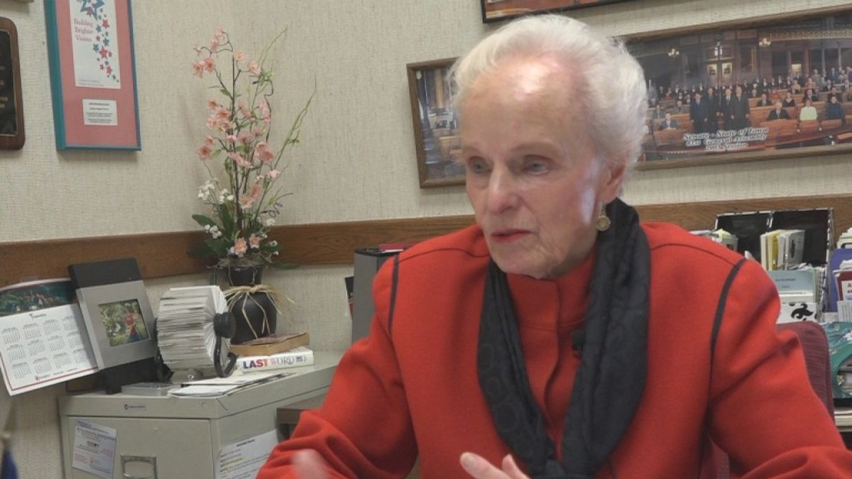 Former state senator Maggie Tinsman discusses the history of her campaign, '50/50 in 2020' on...