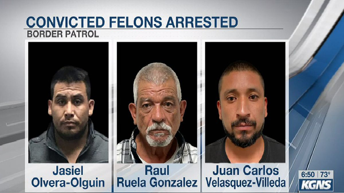 Agents arrest convicted felons