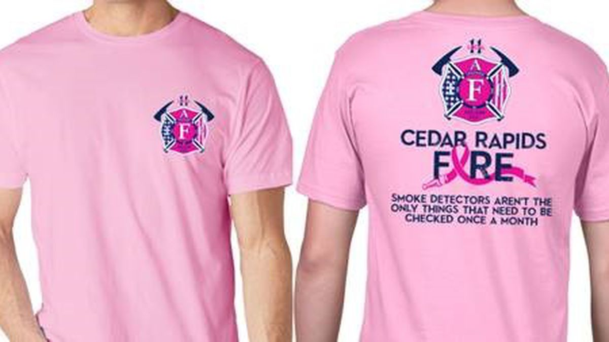 Cedar Rapids Firefighters To Wear Pink For Breast Cancer Awareness