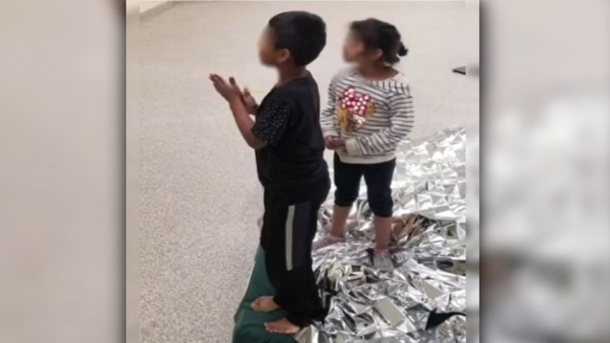 Border patrol agents took in two children who were abandoned along the U.S. southern border.
