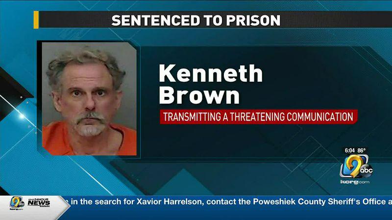 Waterloo man heading to federal prison for threatening U.S. congressman