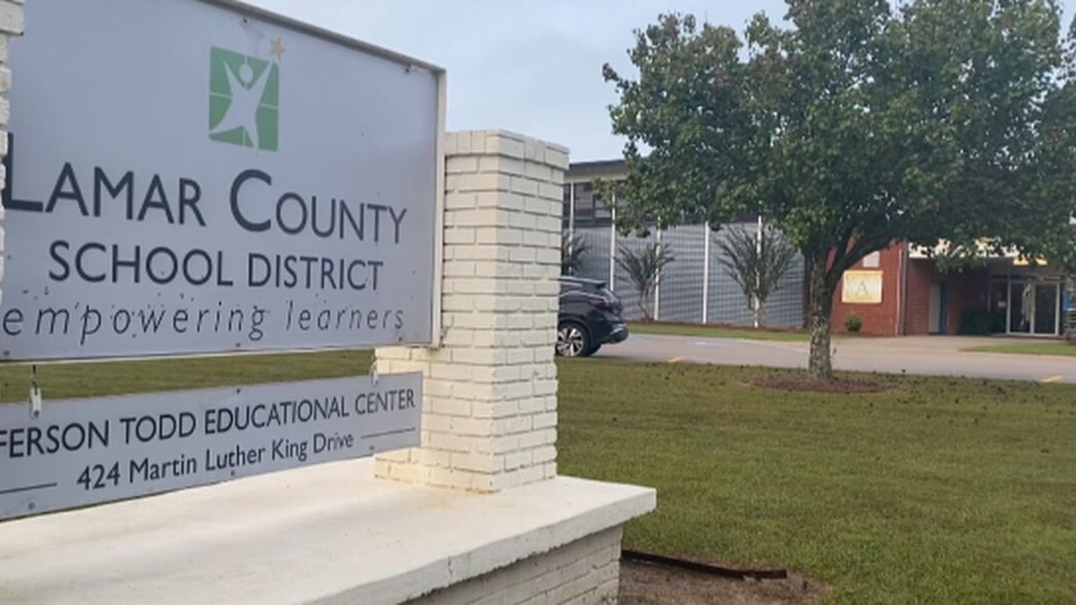 "Lamar County School District Superintendent Dr. Steven Hampton confirmed the ""Slave Letter..."