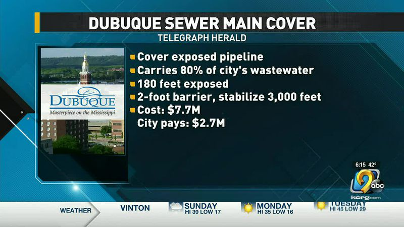 Dubuque sewer main cover