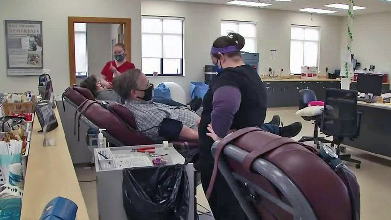 The Mississippi Valley Regional Blood Center is no longer accepting donors who've had COVID-19...