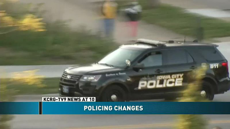 Iowa City Council member discusses abolishing police