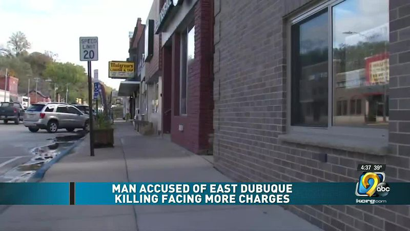 Man accused in East Dubuque killing facing more charges after court outburst