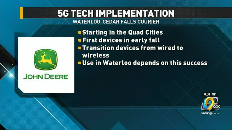 John Deere factories could soon have 5G network