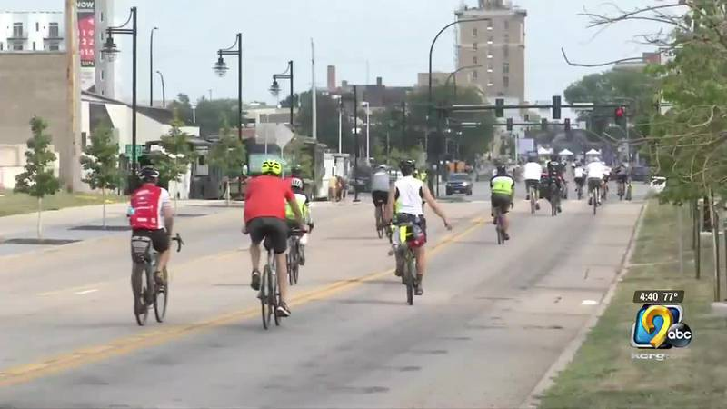 RAGBRAI riders will leave Waterloo this morning and head to Anamosa.