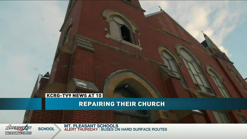 Pentecostals of Greater Cedar Rapids Area continues working with insurance to repair damaged...