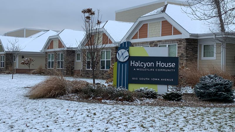 The exterior of Halcyon House in Washington, pictured Dec. 13, 2020.