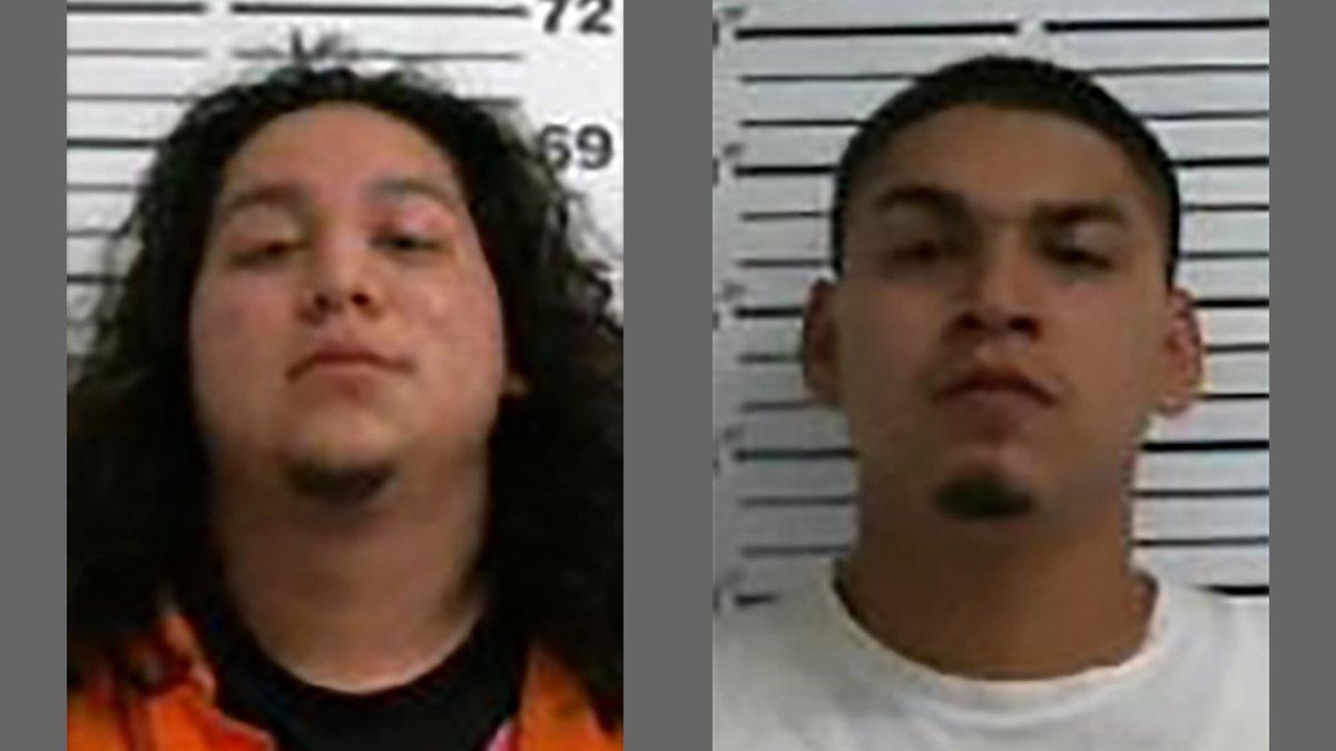 Marc Anthony Castillo, left, 22, and Gilberto Daniel Castillo III, right, 25.