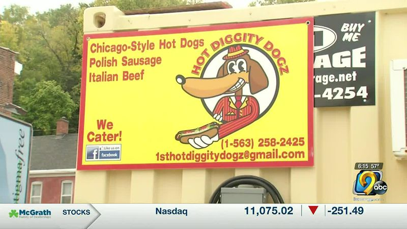 The owner of Hot Diggity Dogz said his goal would be for his business to become a household name.