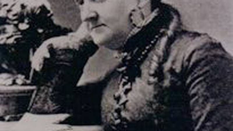 Women's Rights activist and publisher Mary Colby Bradwell.