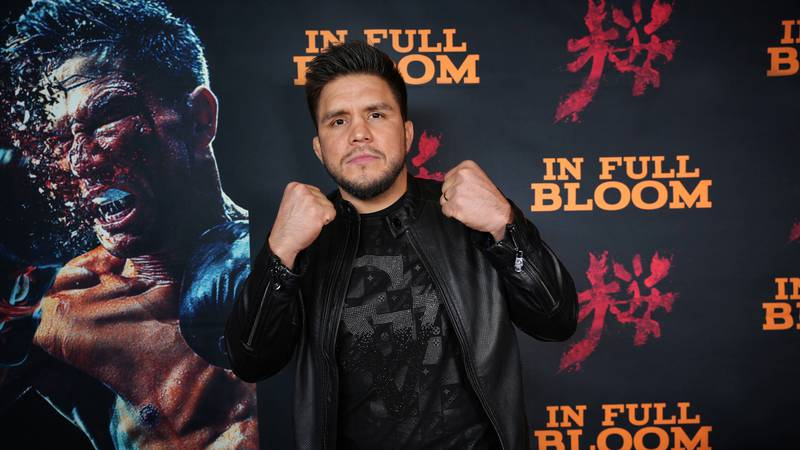 Henry Cejudo at the IN FULL BLOOM premiere by Andre Jaramilo. At age 21 Cejudo became the...