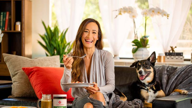 Maggie Q - ActivatedYou's Morning Complete
