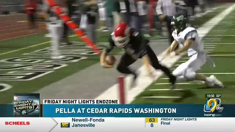 Cedar Rapids Washington needed a win and got one over Pella, 23-21 at Kingston Stadium