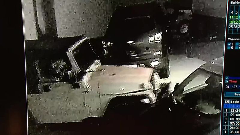 A Cedar Rapids man had two vehicles stolen from his driveway in a week, and it's all on camera.