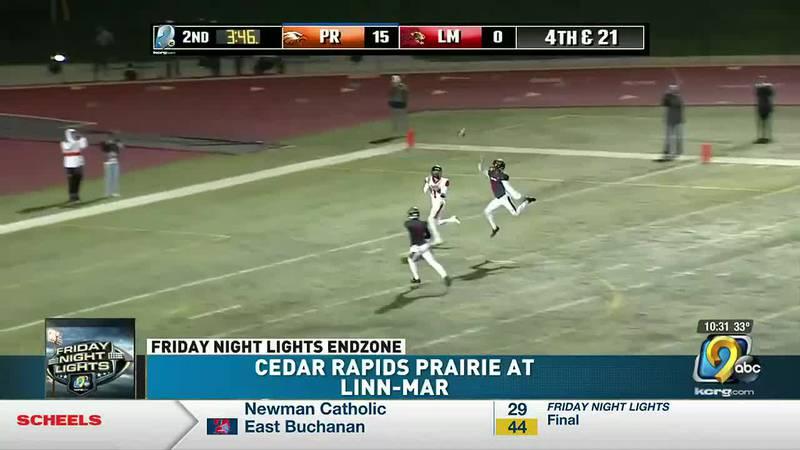 Cedar Rapids Prairie wins the regular season finale over Linn-Mar 36-20 on KCRG 9.2