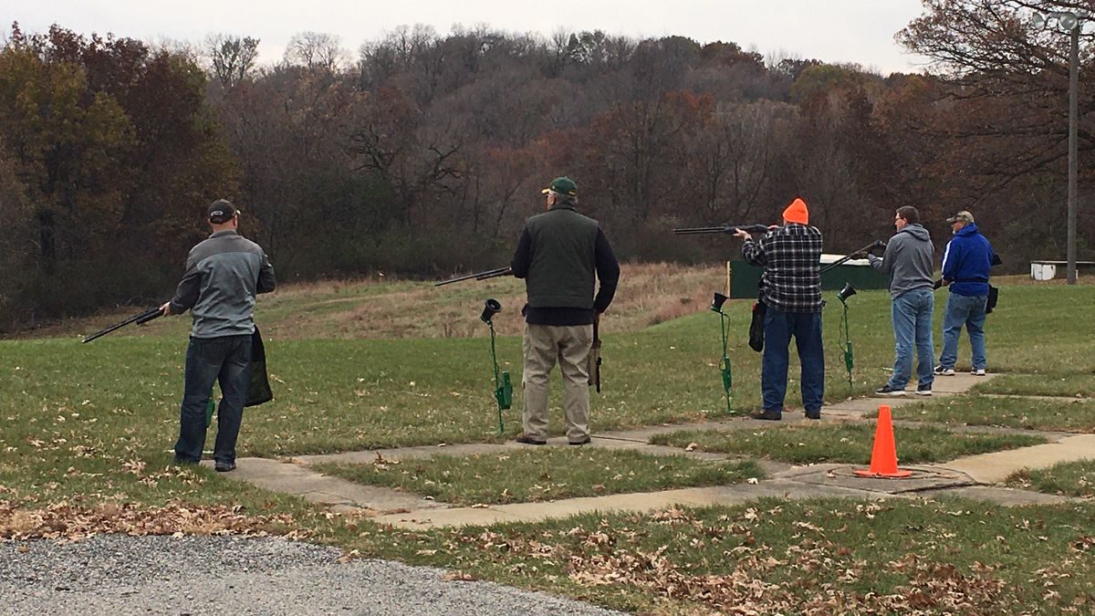 The Coe College Trap Team and the Linn County Chapter of the Izaak Walton League teamed up to host a trap shoot fundraiser on Nov. 10, 2019, in Cedar Rapids. (MARY GREEN/KCRG)