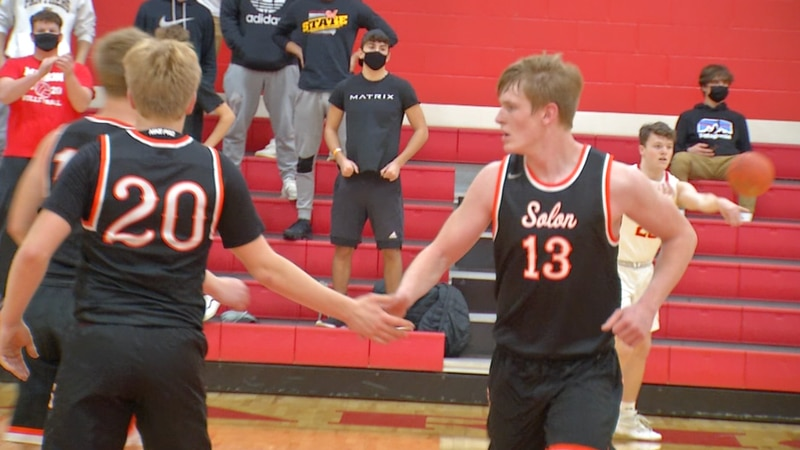 Solon fends off Marion 69-55