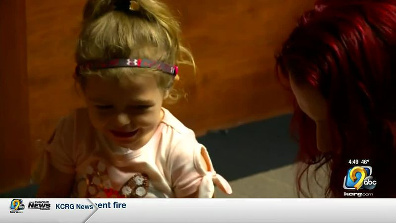 A Pella family is suing the Pella Community School District after their 3-year-old niece with...