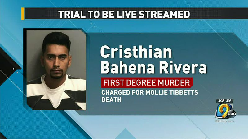 People will be able to watch the trial of the man charged with killing University of Iowa...
