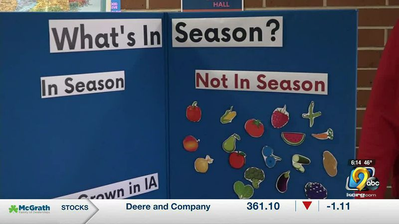 The Dubuque Salvation Army also celebrated the start of the growing season for its garden.