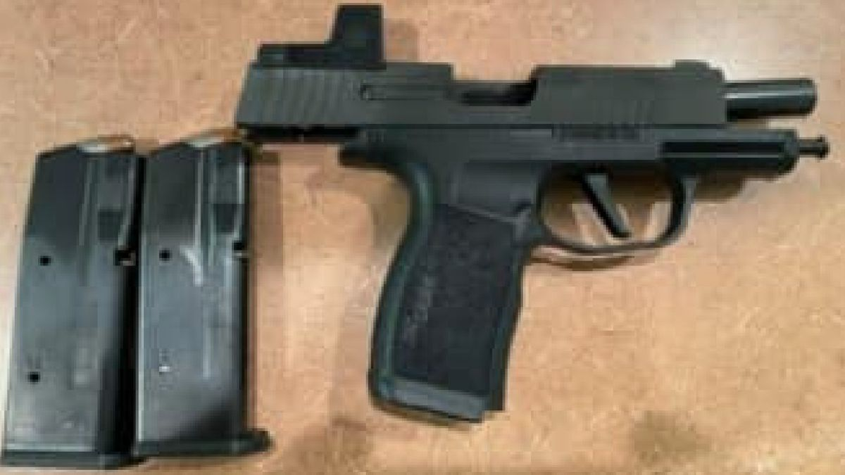 Agents seize firearm during human smuggling attempt