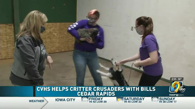 Critter Crusaders of Cedar Rapids getting help with increasing medical bills