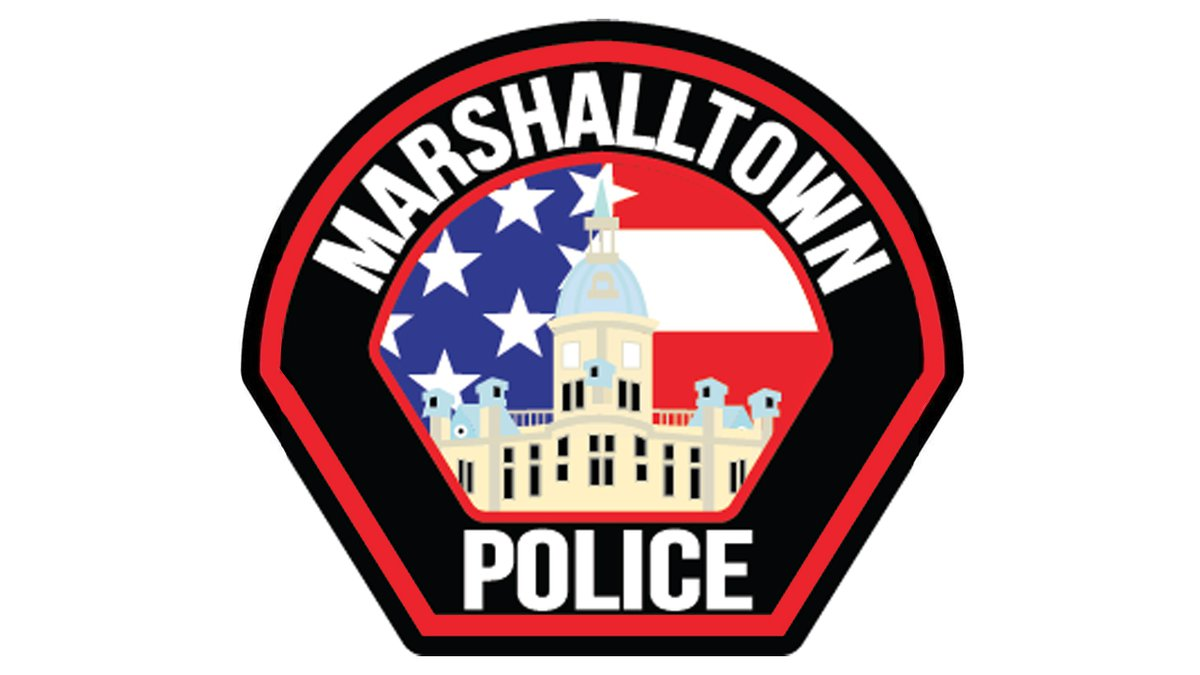 Marshalltown Police Department logo.